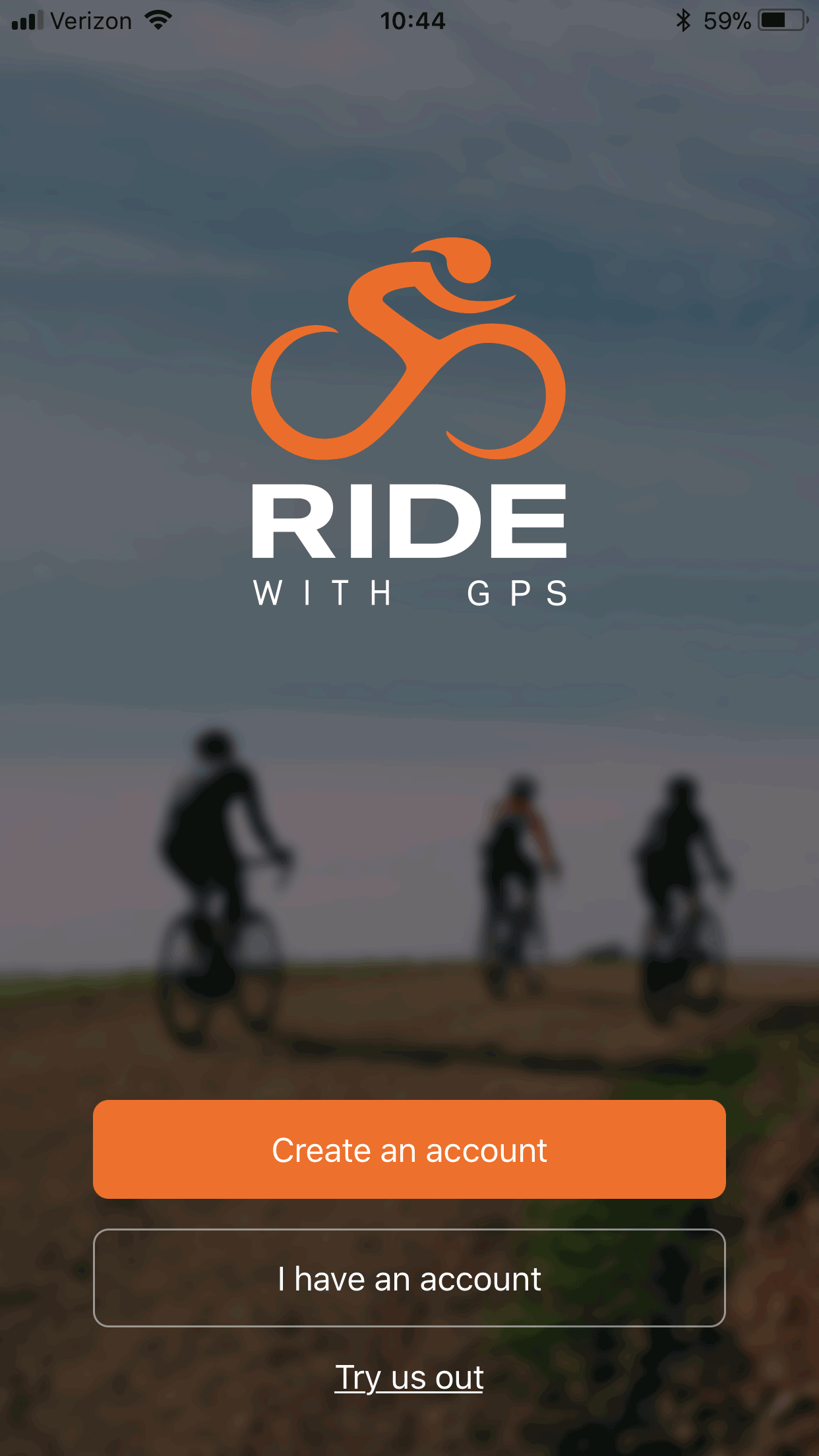 Record your first ride with our mobile app | Ride With GPS ...