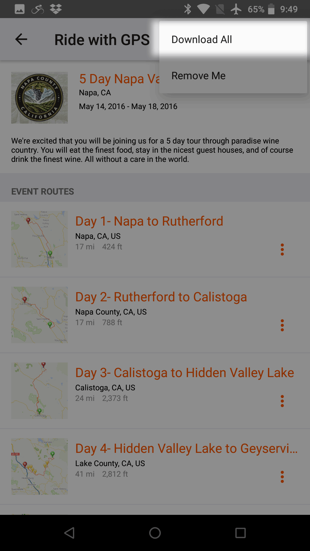 Offline Maps on Android | Ride With GPS Help