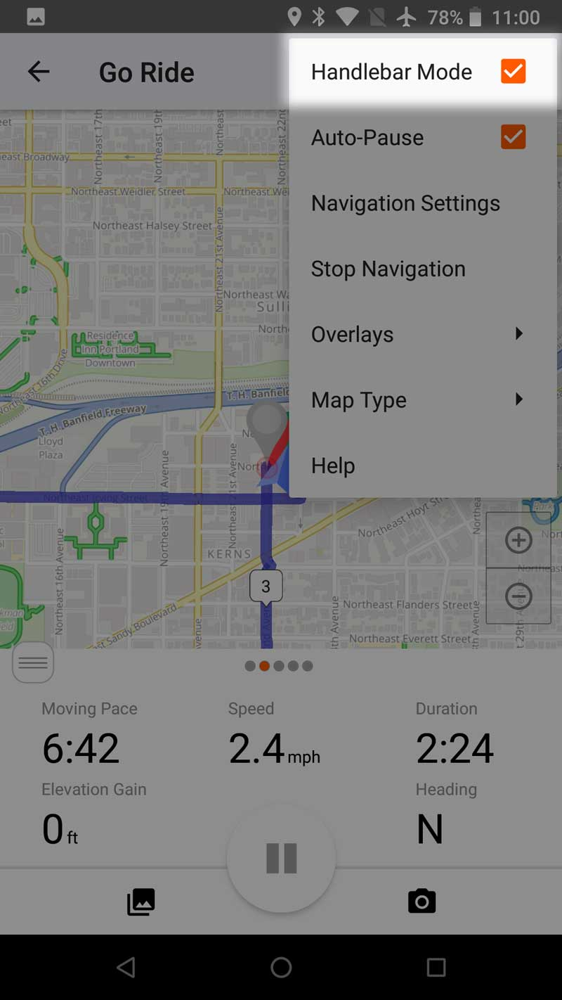 Manage Settings on Mobile | Ride With GPS Help
