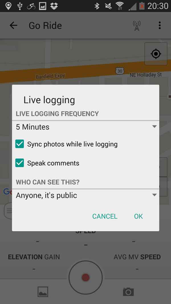 live-logging-android-prompt