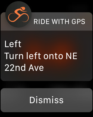 Apple Watch | Ride With GPS Help