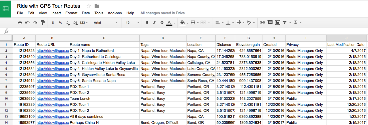 Part 2: The Tour Route Library | Ride With GPS Help