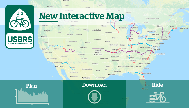 Navigate The Us Bicycle Route System Ride With Gps Help - Us-bicycle-route-system-map