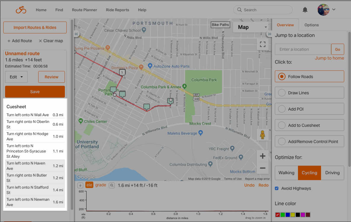 Route Planning | Ride With GPS Help