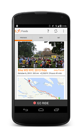 The best Android bike navigation and logging app