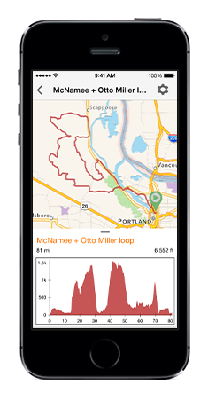 The best iPhone bike navigation and logging app