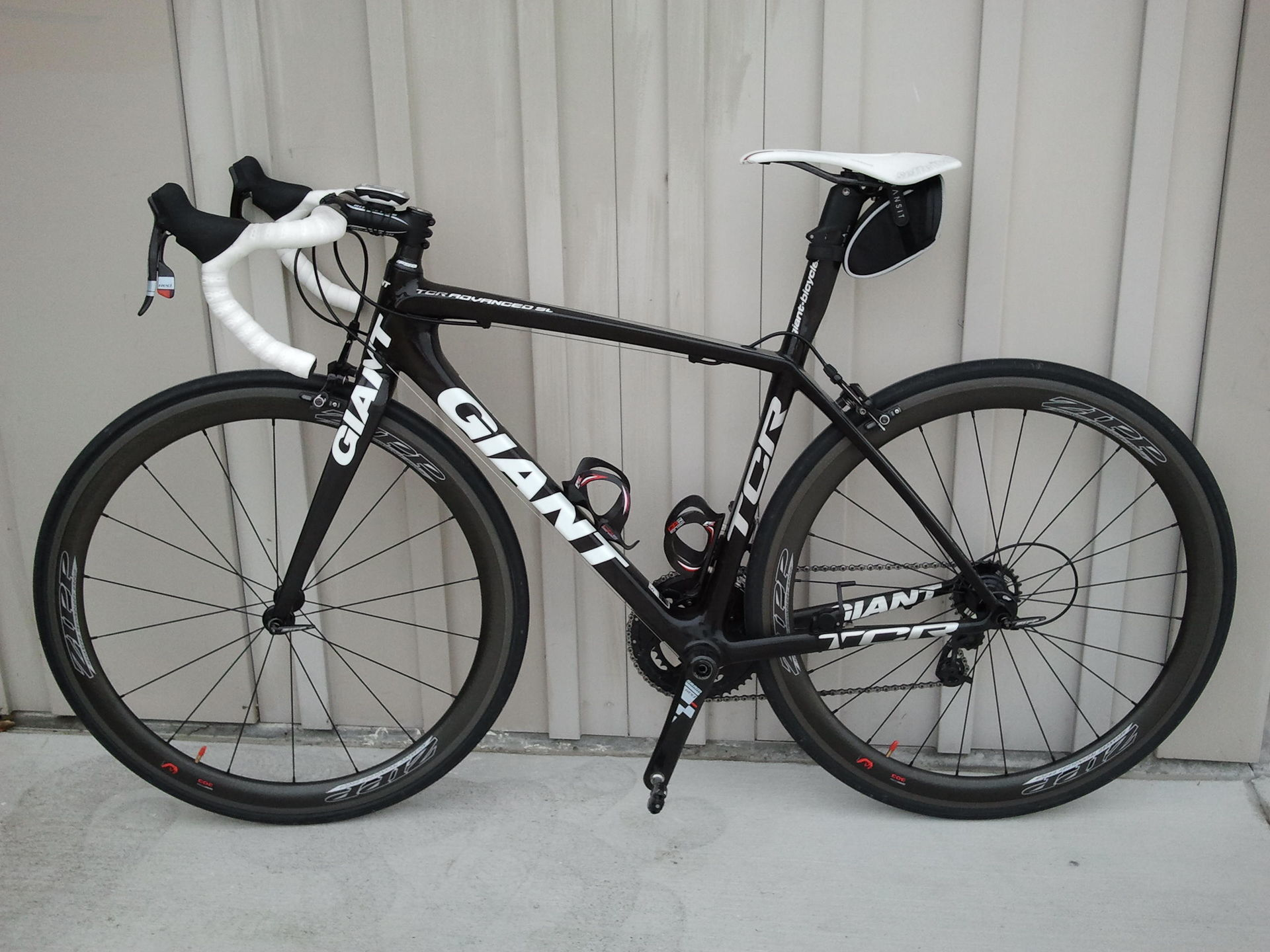 Jeff Wong's 2009 Giant TCR Advanced SL ISP Photo