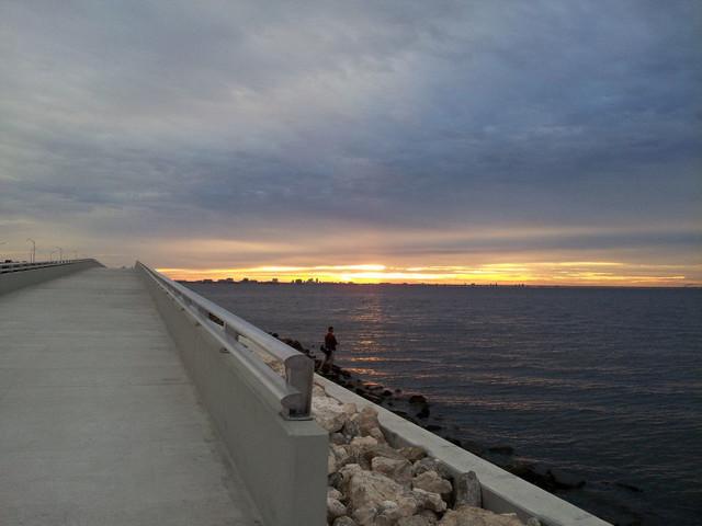 Causeway Trail Across Tampa Bay