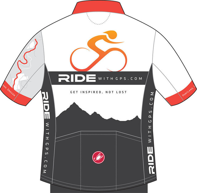 Ride With GPS Merchandise: Jersey