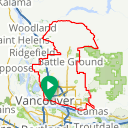 Map image of a Route from March 30, 2012