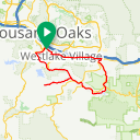 Map image of a Route from July 15, 2010