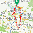 Map image of a Route from May 22, 2012