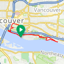Map image of a Route from June  8, 2012