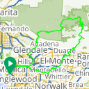 Map image of a Route from June 24, 2012
