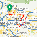 Map image of a Route from August 29, 2012