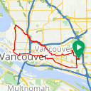 Map image of a Route from August 30, 2012