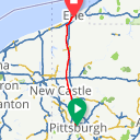 Map image of a Route from September  4, 2012