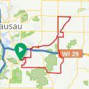 Map image of a Route from April  7, 2013