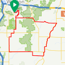 Map image of a Route from June 24, 2013
