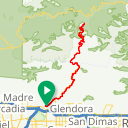 Map image of a Route from June 27, 2013