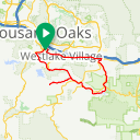 Map image of a Route from November  5, 2009