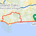 Map image of a Route from July  5, 2013