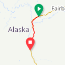Map image of a Route from July 14, 2013