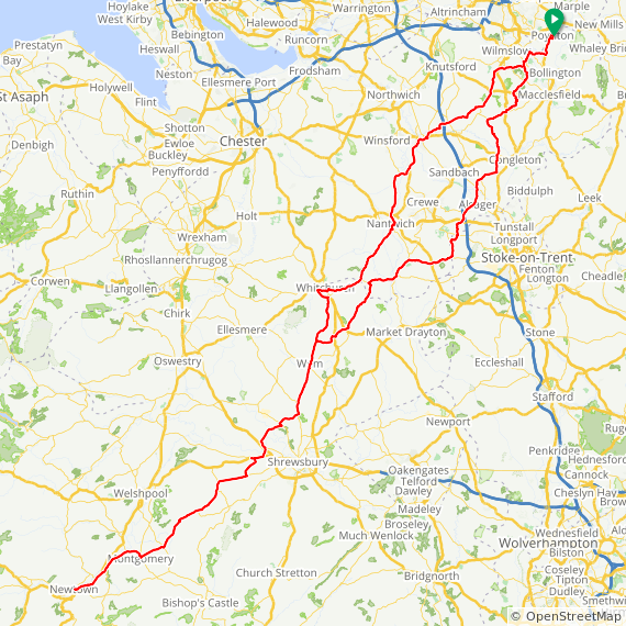 click for route map