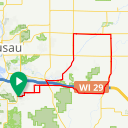 Map image of a Route from July 29, 2013