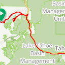 Map image of a Route from August  8, 2013