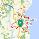 Map image of a Route from March  7, 2011