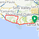 Map image of a Route from August 28, 2013