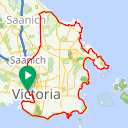 Map image of a Route from November  5, 2013
