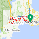 Map image of a Route from January 20, 2014
