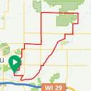 Map image of a Route from March 17, 2014