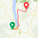 Map image of a Route from May 24, 2014
