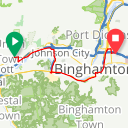 Map image of a Route from June  9, 2014