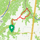 Map image of a Route from June 20, 2014