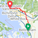 Map image of a Route from July 23, 2014