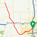 Map image of a Route from July 30, 2014