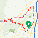 Map image of a Route from August 28, 2014