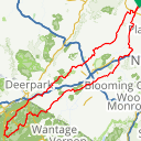 Map image of a Route from September 20, 2014