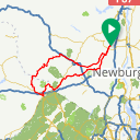 Map image of a Route from September 21, 2014