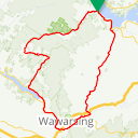 Map image of a Route from September 24, 2014