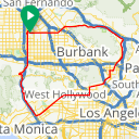 Map image of a Route from September 15, 2011