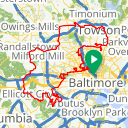 Map image of a Route from April  7, 2015