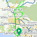 Map image of a Route from December  8, 2011