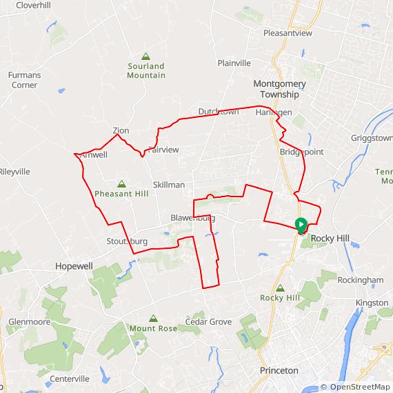25-mile loop