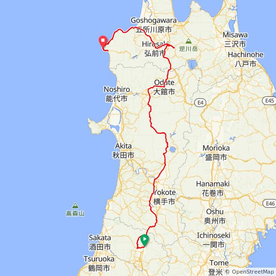 AJ神奈川 400km イザベラ コース