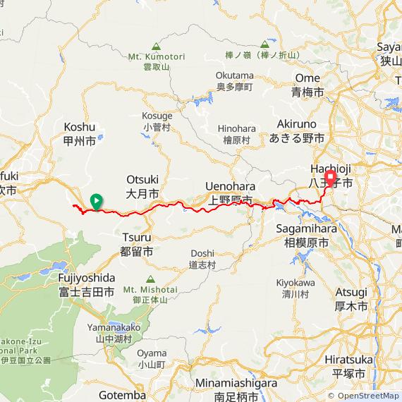 ろんぐらいだぁす!聖地巡礼-大垂水峠挑戦コース